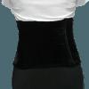 Cinturão preto veludo