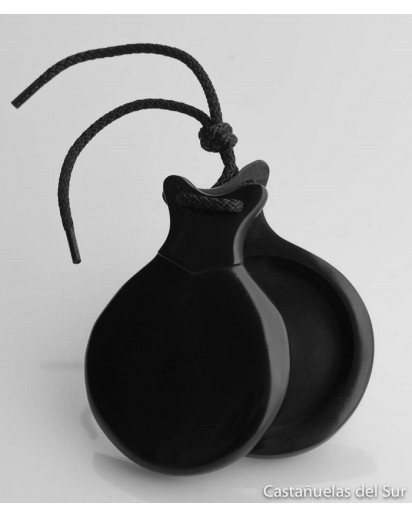 Castanhola profissional fibra negra Nº3