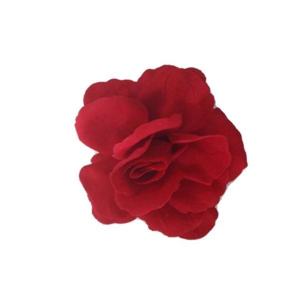 Flor flamenca madrid com passador