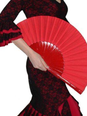 Leque Flamenco Abanico Pericón Grande
