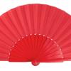 Leque abanico pericón 30cm grande - Vermelho