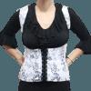 Colete Flamenco Cigano Branco 3D
